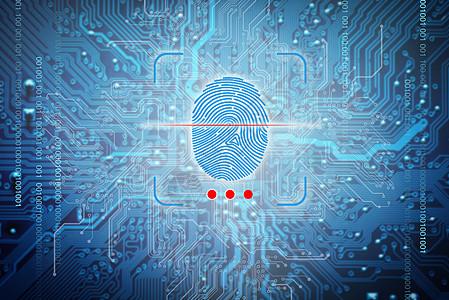 指纹扫描科技图片