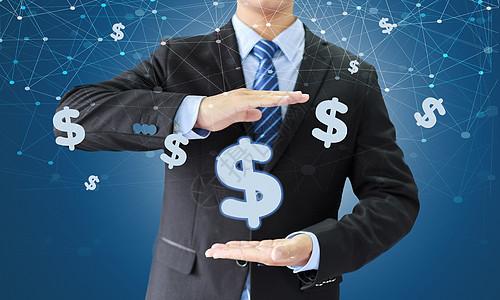 商务金融科技背景图片