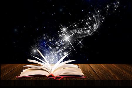 书本散发的光芒图片