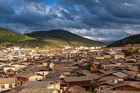 香格里拉古城图片