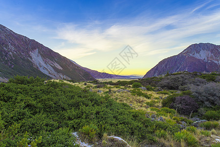 新西兰库克山峡谷图片