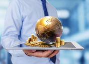 世界金融概念图片