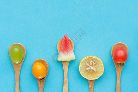 创意水果联盟图片