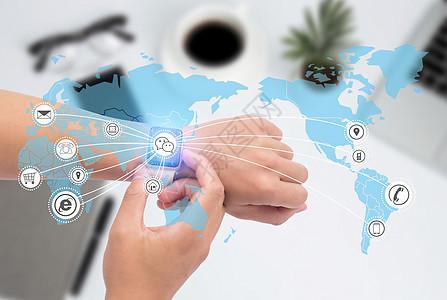 商务互联网信息图片