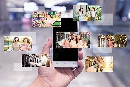 电商互联网购物消费图片