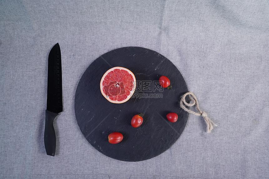 新鲜西柚水果图片