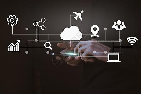移动智能网络科技图片
