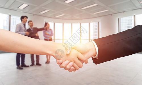 合作共赢图片