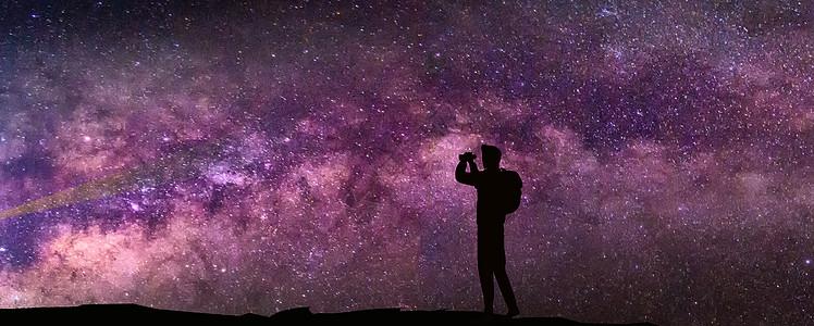 宁静夜空图片