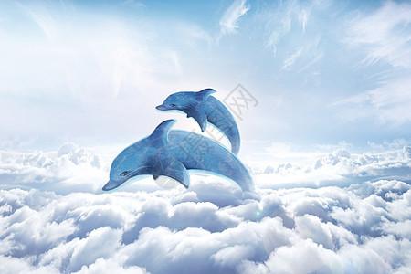 超现实鲸鱼图片