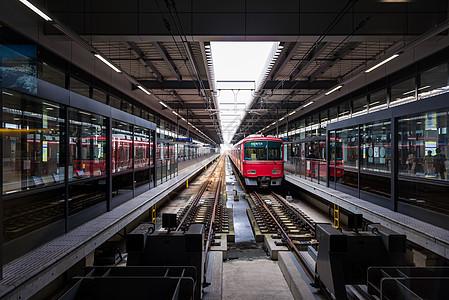 名古屋机场的换乘地铁图片
