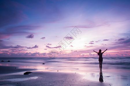 涠洲岛日出美景图片