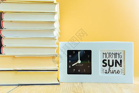 书本与时间图片