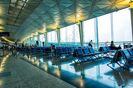 机场候机室图片