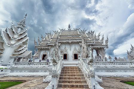 泰国清莱白庙灵光寺图片