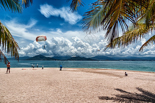 海南西岛海岸美景图片