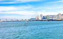 海滨城市图片