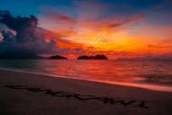 兰卡威日落时分图片