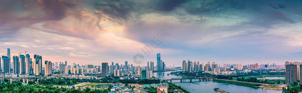 武汉城市风光汉水两岸图片