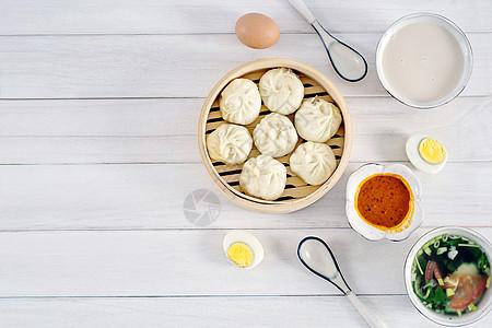 健康丰盛的早餐图片