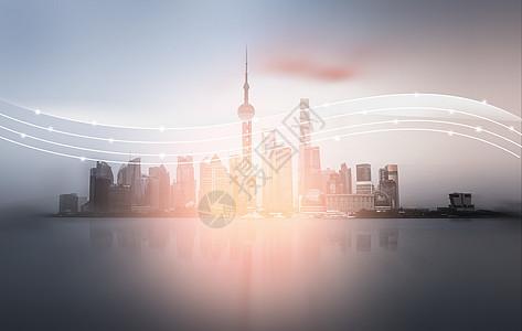 云计算建筑科技城市图片