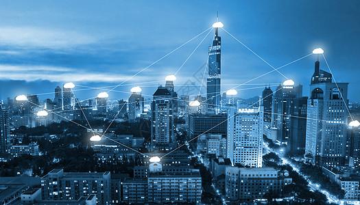 城市 网络连接云技术交流图片