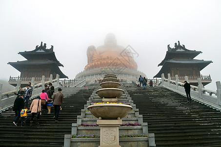 宁波奉化布袋和尚像弥勒大佛图片
