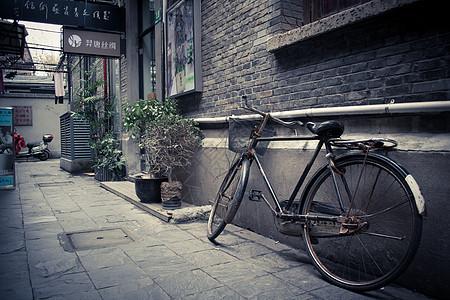 回忆中的自行车图片