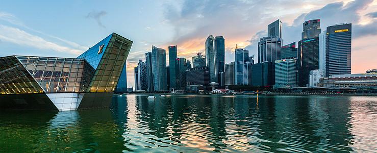 新加坡城市景观图片