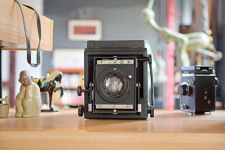 古董收藏品-照相机图片