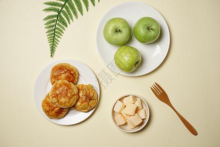食物简约摆盘素材图片