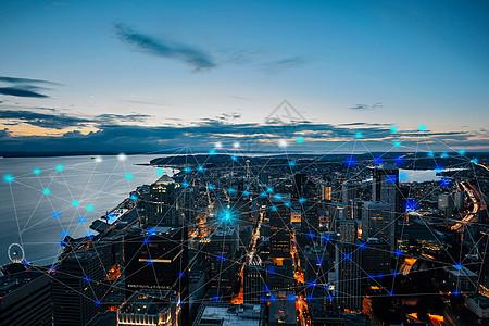 城市科技点图片