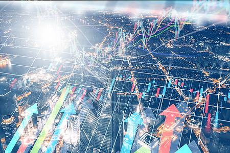 城市股票数据图片