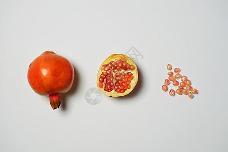 石榴抠图素材图片