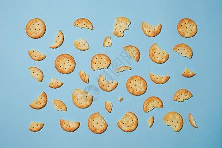 饼干碎片抠图素材图片