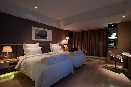 高级酒店客房双人间图片