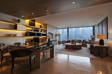 豪华酒店客厅图片
