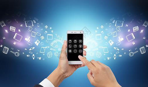 科技手机支付时代图片