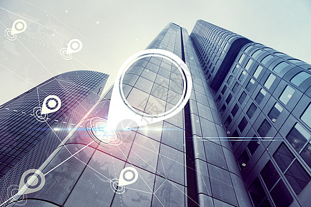 办公大楼定位科技图片