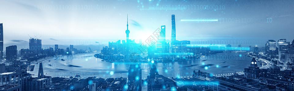 蓝色数据科技图片