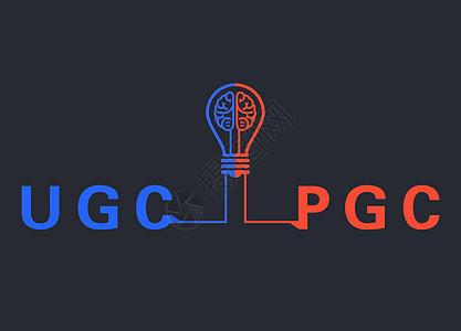 UGC和PGC的理念图片