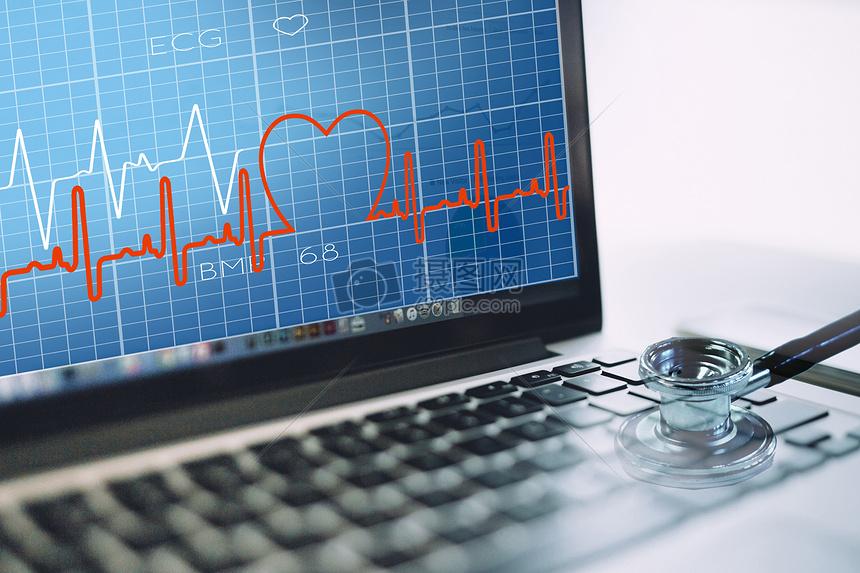 电脑心脏体检图片