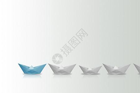 纸船创意 图片