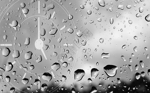 城市时钟背景图片