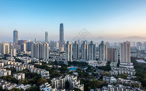 深圳罗湖建筑城市风光图片