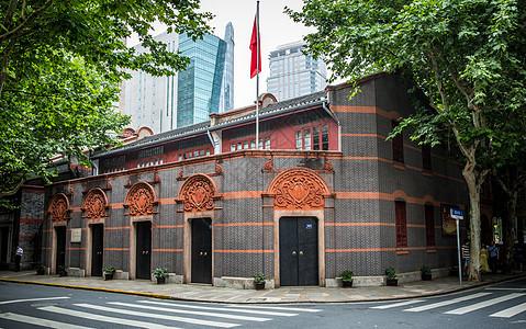 上海中共一大会址图片