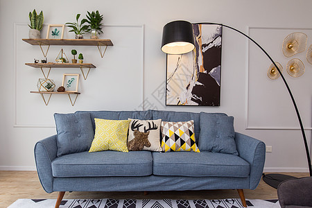 北欧风格室内家居图片