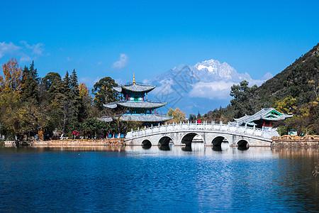 丽江玉龙雪山图片