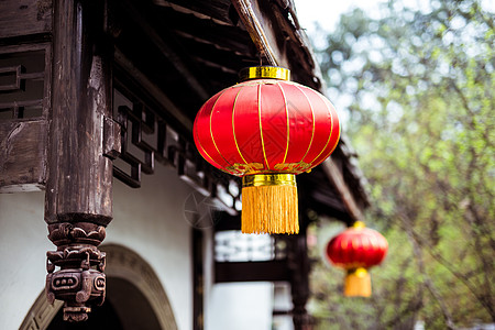 中国风喜气大灯笼图片