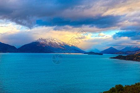 新西兰仙境格林诺奇美景图片